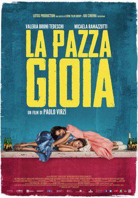Folles de joie - Poster Italie