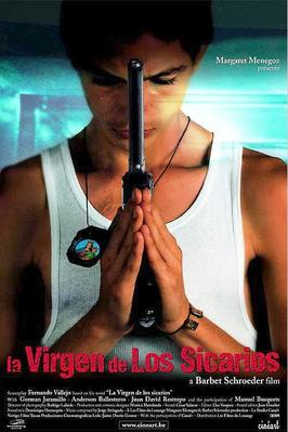 La Vierge des tueurs - Poster Belgique