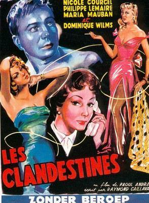 Les Clandestines - Poster Belgique