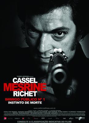 Instinct de mort/ジャック・メスリーヌ フランスで社会の敵と呼ばれた男 Part.1 ノワール編 - Poster - Brazil