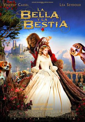 Beauty and the Beast - Poster - Spain