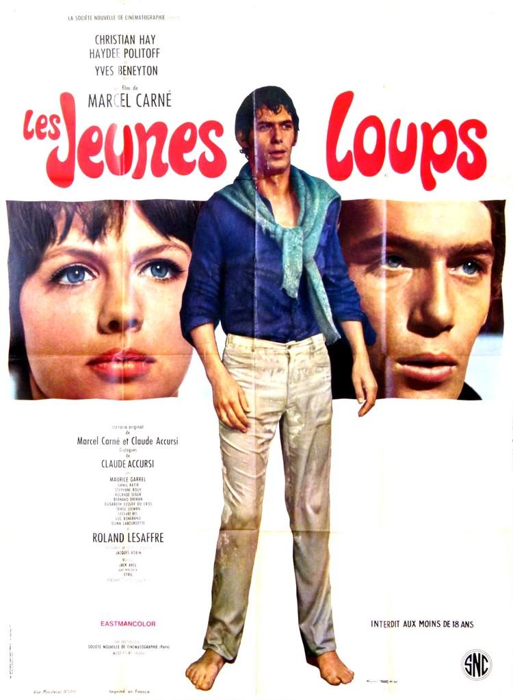 Les jeunes loups - Poster France