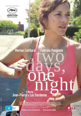 Dos días, una noche - Poster - Australia