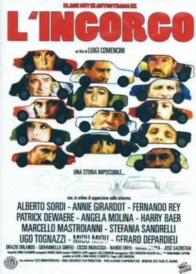 El Gran atasco - Jaquette DVD Italie