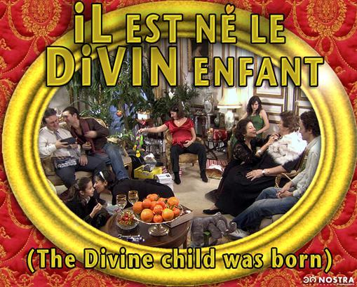 The Divine Child Was Born