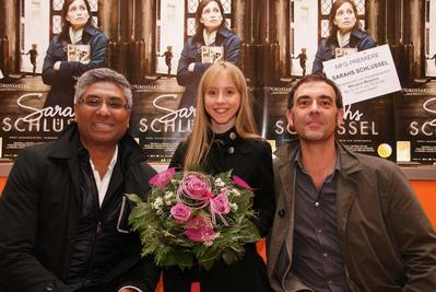 Sarah's Key wins the uniFrance Films/MFG Distribution Aid Award - Kamran Sardar Khan/Mélusine Mayance/Thomas Reisser