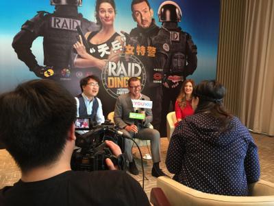 Vademécum: Dany Boon y Alice Pol en Pekín, para Una policía en apuros