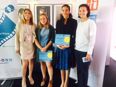 Presentation of the AEFE Awards for the Best MyFrenchFilmFestival Reviews at Cannes