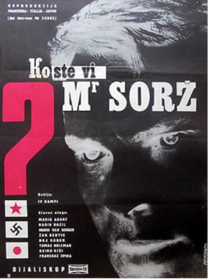 Qui êtes-vous Monsieur Sorge ? - Poster - Yougoslavia