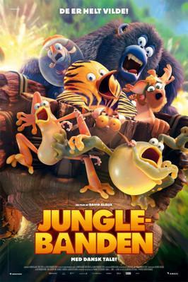 Les As de la jungle (le film) - Poster - Denmark