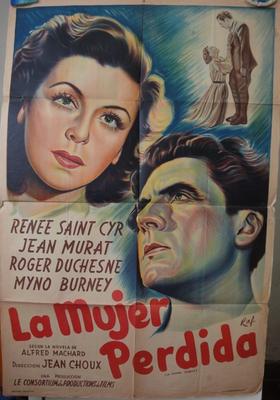La Femme perdue - Poster Argentine