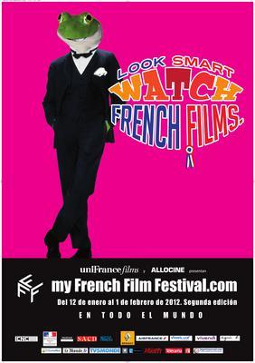 フランス映画をスマートに鑑賞 - Poster MyFrenchFilmFestival 2012 - ES