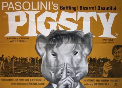 豚小屋 - Poster Angleterre