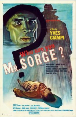 Who Are You Mr Sorge ? / Soviet Spy - Poster - USA