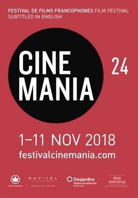 Festival de films francophones CINEMANIA - 2018