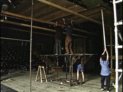 Théâtre du Radeau, triptyque - © Patrick Viret
