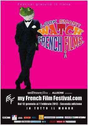 フランス映画をスマートに鑑賞 - Poster MyFrenchFilmFestival 2012 - IT