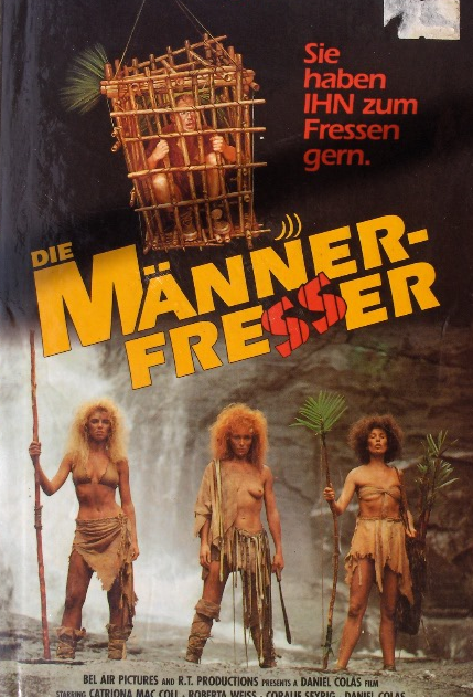 Mangeuses d'hommes - Jaquette VHS Allemagne