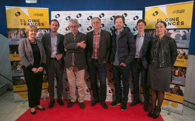 Highlights of the Tu Cita con el Cine Francés event in Madrid - La délégation artistique