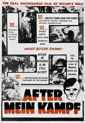 """Après """"Mein Kampf"""", mes crimes ! - Poster Etats-Unis"""