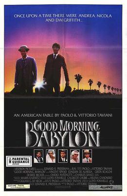 Good Morning, Babylon - Poster - Etats-Unis