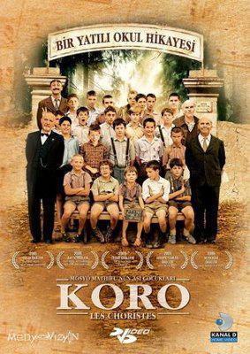 Los Chicos del coro - Poster DVD Turquie