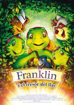 Franklin et le tresor du lac / 仮題:フランクリンと湖の宝物 - Poster Andorre