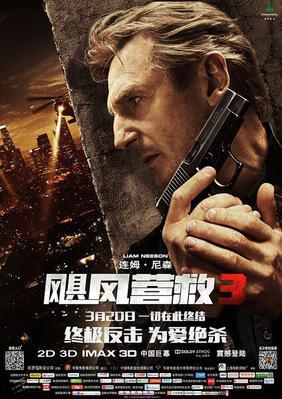 Taken 3 - Poster - China 1