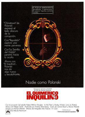 El Quimérico inquilino - © Poster Espagne