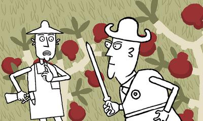 Le Président et le jardinier