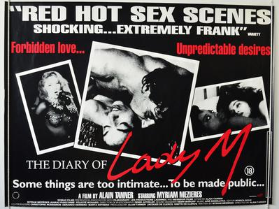 El Diario de lady M. - Poster Royaume-Uni