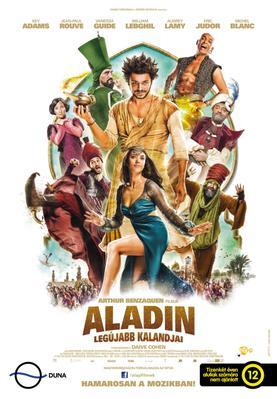 Les Nouvelles Aventures d'Aladin - Poster - Hungary