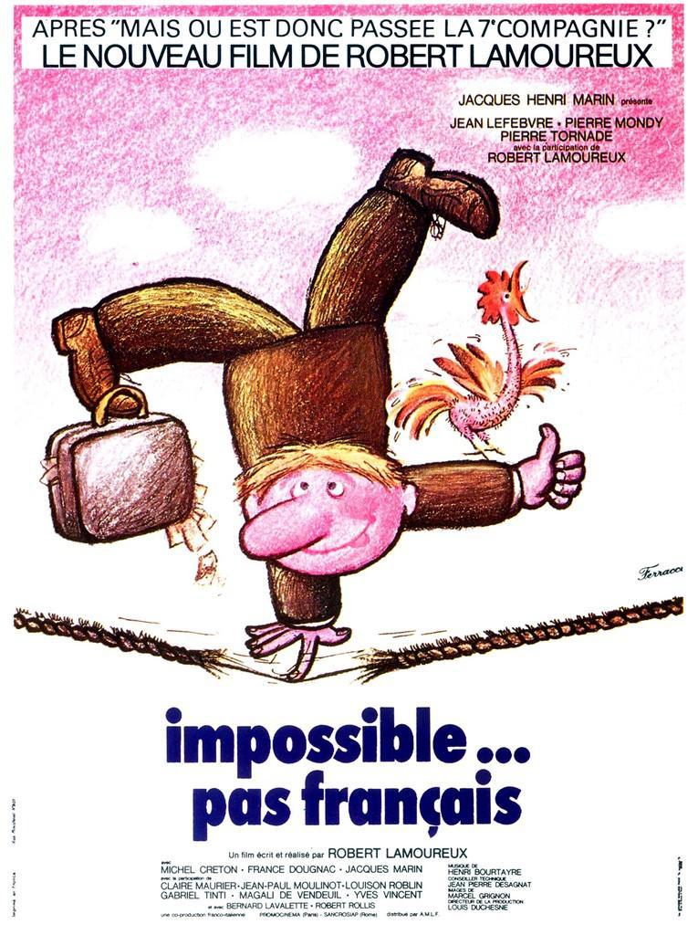 Impossible... pas français affiche