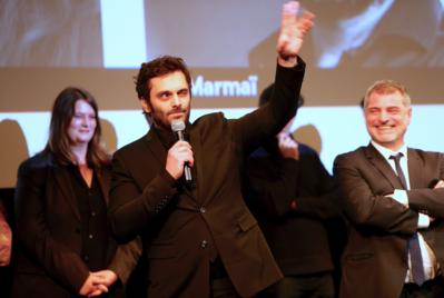 Bilan de la 24e édition des Rendez Vous with French Cinema in New York - Pio Marmai et Pierre Salvadori - Soirée d'ouverture - © Bestimage