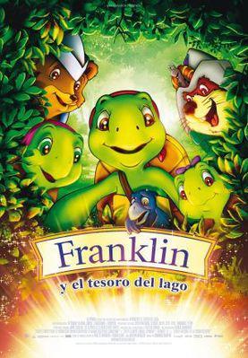 Franklin y el tesoro del lago - Poster Espagne