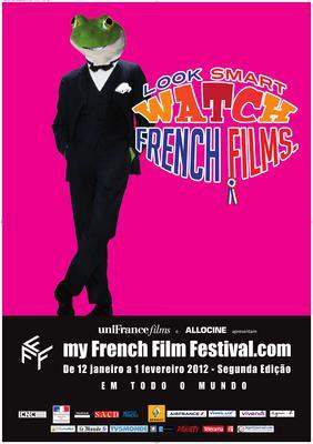 フランス映画をスマートに鑑賞 - Poster MyFrenchFilmFestival 2012 - PT