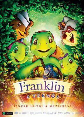 Franklin y el tesoro del lago - Poster Hongrie