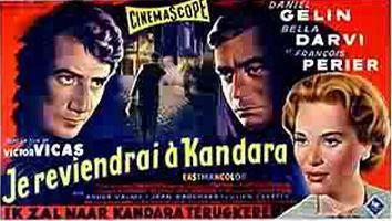 Je reviendrai à Kandara - Poster Belgique