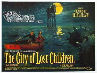 La Ciudad de los niños perdidos - Poster - Royaume-Uni
