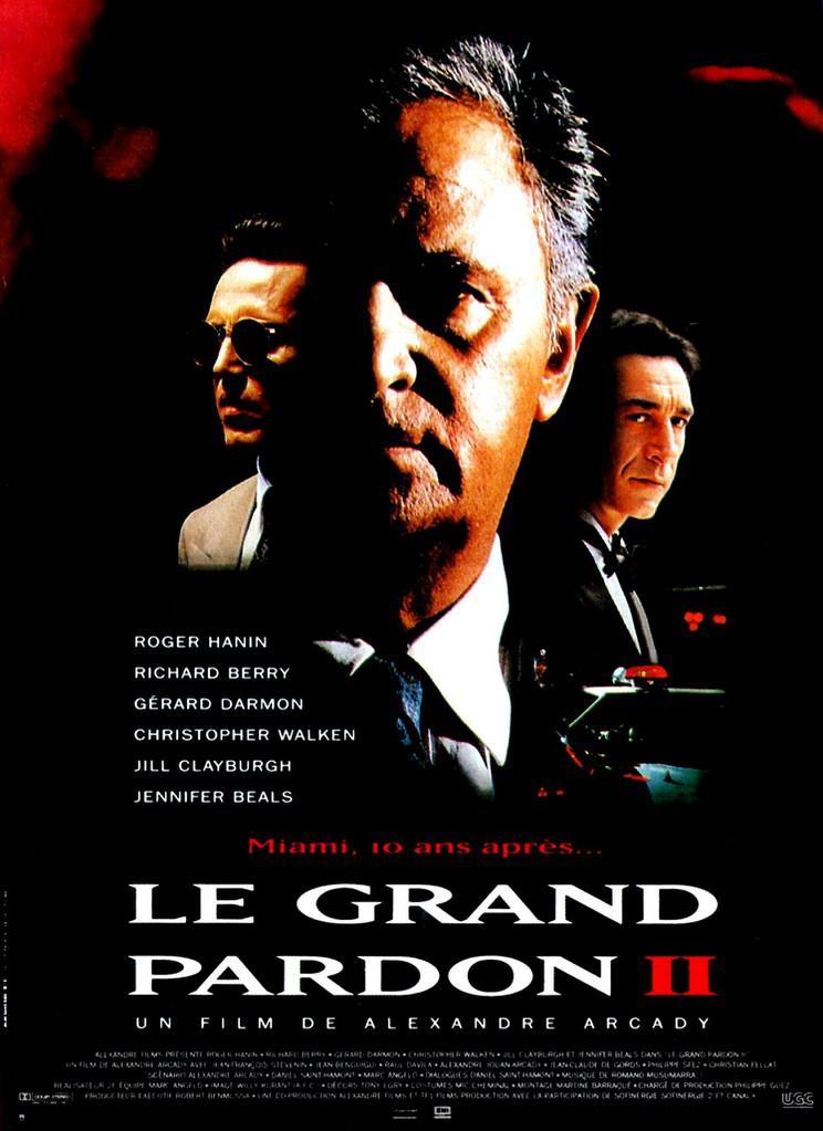 Le Grand Pardon II - Poster France