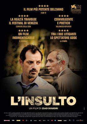 The Insult - Poster - Italy