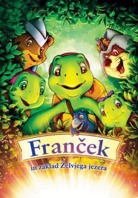 Franklin et le tresor du lac / 仮題:フランクリンと湖の宝物 - Poster Slovénie