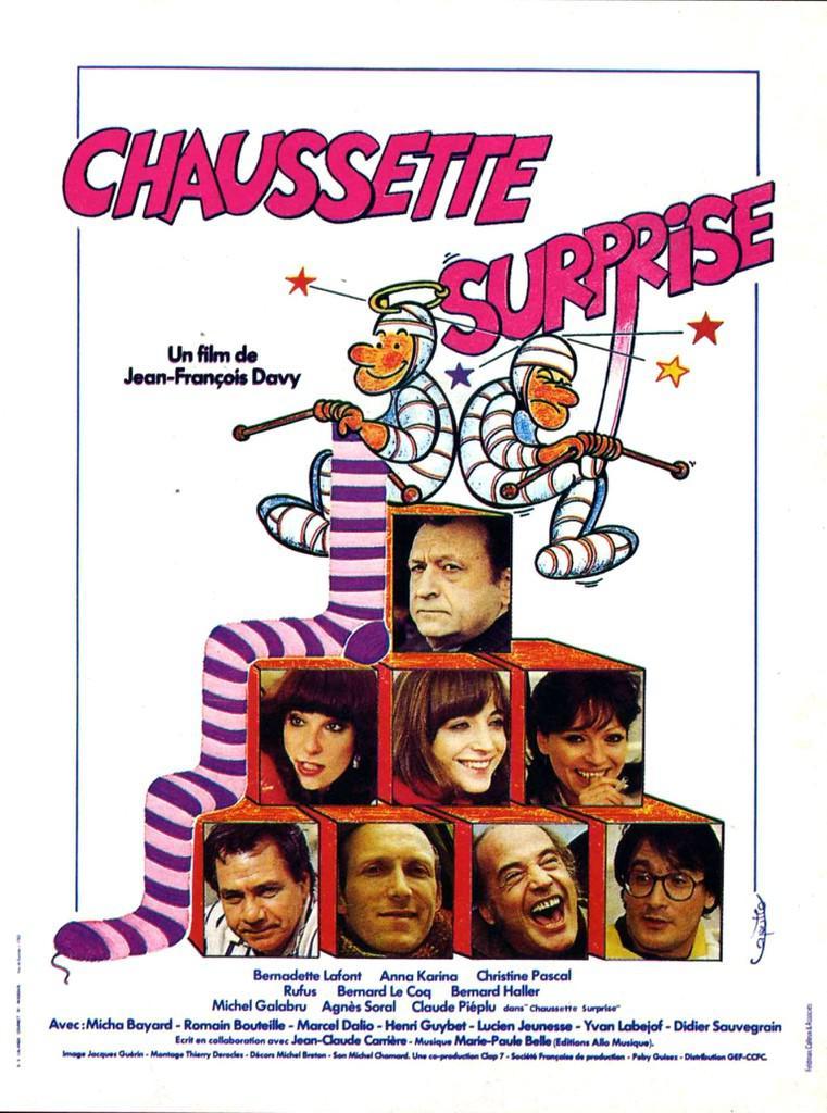 Chaussette surprise - Jaquette DVD (France)