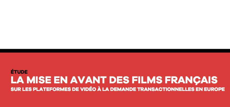 UniFrance presenta su primer informe sobre las propuestas de cine francés existentes en las plataformas VOD