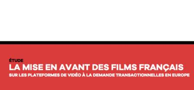 UniFrance unveils its first report on the showcasing of French films on VOD platforms