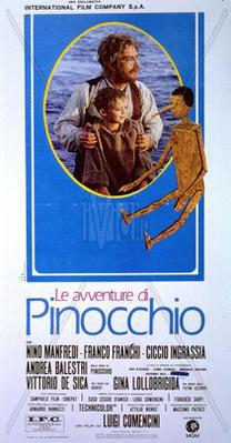 The Adventures of Pinocchio - Poster Italie