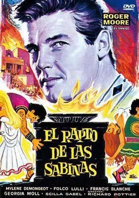 L'Enlèvement des Sabines - Jaquette DVD Espagne