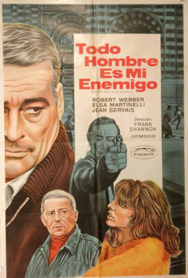 Every Man Is My Enemy - Poster - Spain