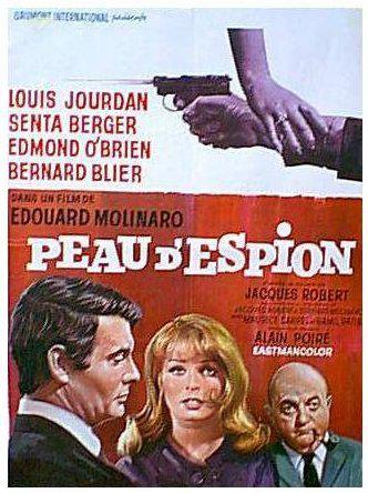 Peau d'espion - Poster France