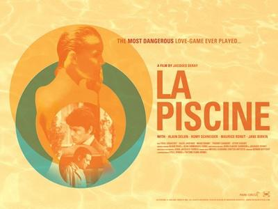 La Piscine / The Swimming Pool - Poster UK - © Park Circus Films